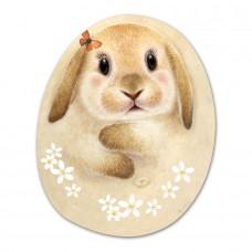 Салфетка под тарелку и приборы в форме кролика