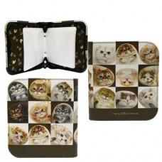 Чехол для CD DVD дисков с кошками