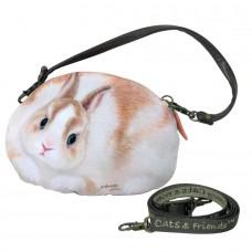 Чехол-сумочка для мобильного, фотоаппарата, документов в форме кролика