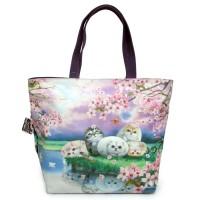 Женская сумка для каждодневного использования с потайным внешним карманом
