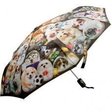 Автоматический зонт с собачками Henry Cats