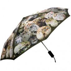 Автоматический зонт с кошками Генри без отдачи