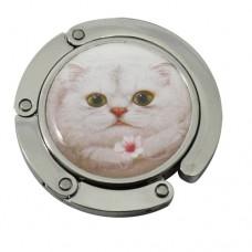 Крючок-вешалка на стол для сумки с кошкой Генри