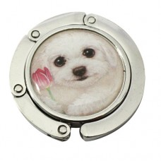 Крючок-вешалка на стол для сумки с собачкой