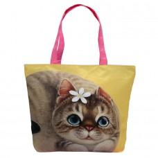 Легкая женская сумка с кошкой Энни для ежедневного использования