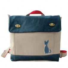 Ранец-портфель с логотипом кошек Генри