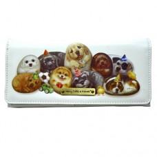 Женский кошелек-портмоне с собачками Генри
