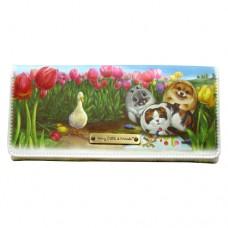 Красочный кошелек-портмоне с кошками и щенками Генри
