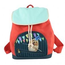 Рюкзак с щенком лабрадора