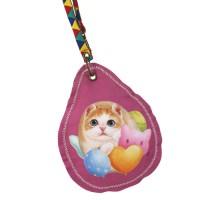 Ключница-монетница с котенком
