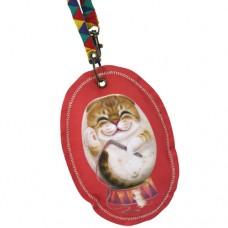 Ключница-монетница с кошкой Беллой