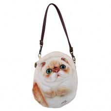 Чехол-сумочка для мобильного, фотоаппарата, документов в форме кошки