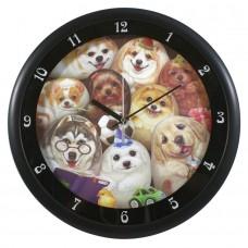 Часы настенные с собачками