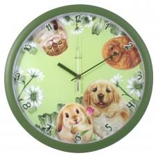 Часы настенные с кошками и собаками